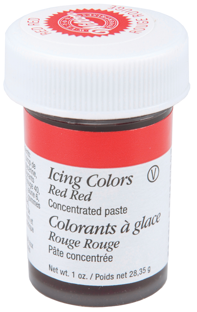 Icing Colors 1oz-Red Red