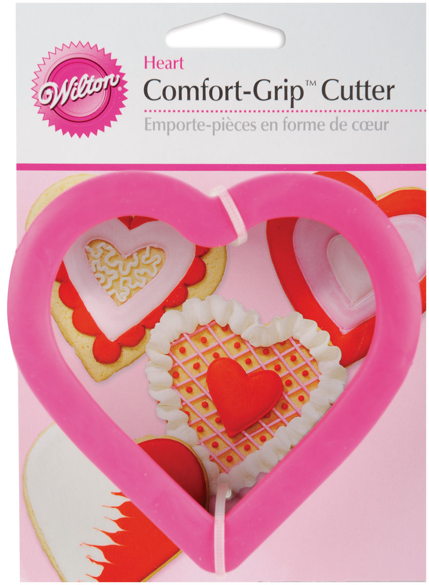 "Comfort-Grip Cookie Cutter 4""-Heart"