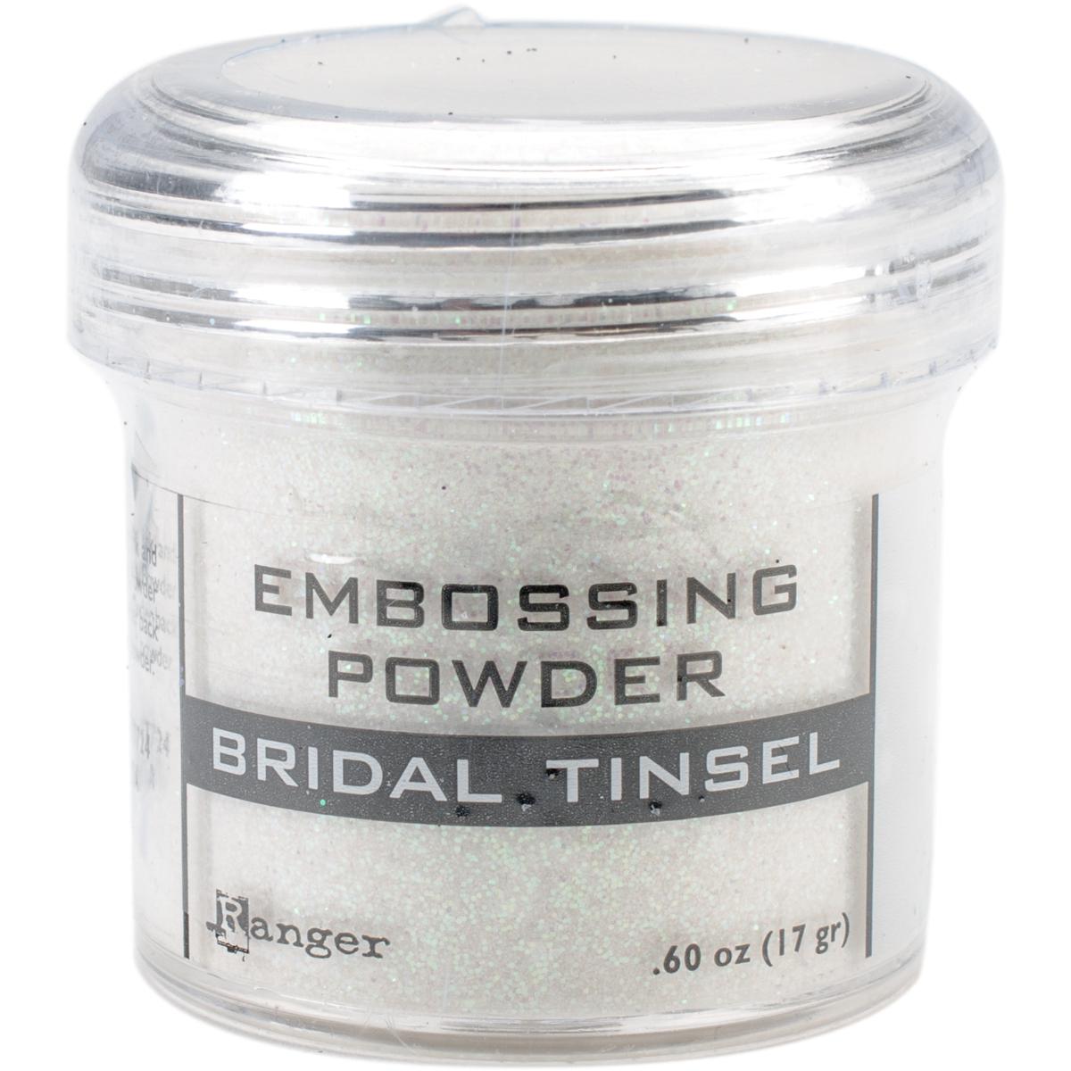 Embossing Powder-Bridal Tinsel
