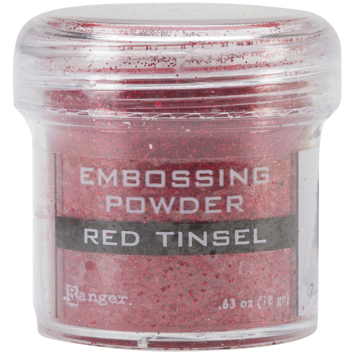 Embossing-Powder-Red-Tinsel