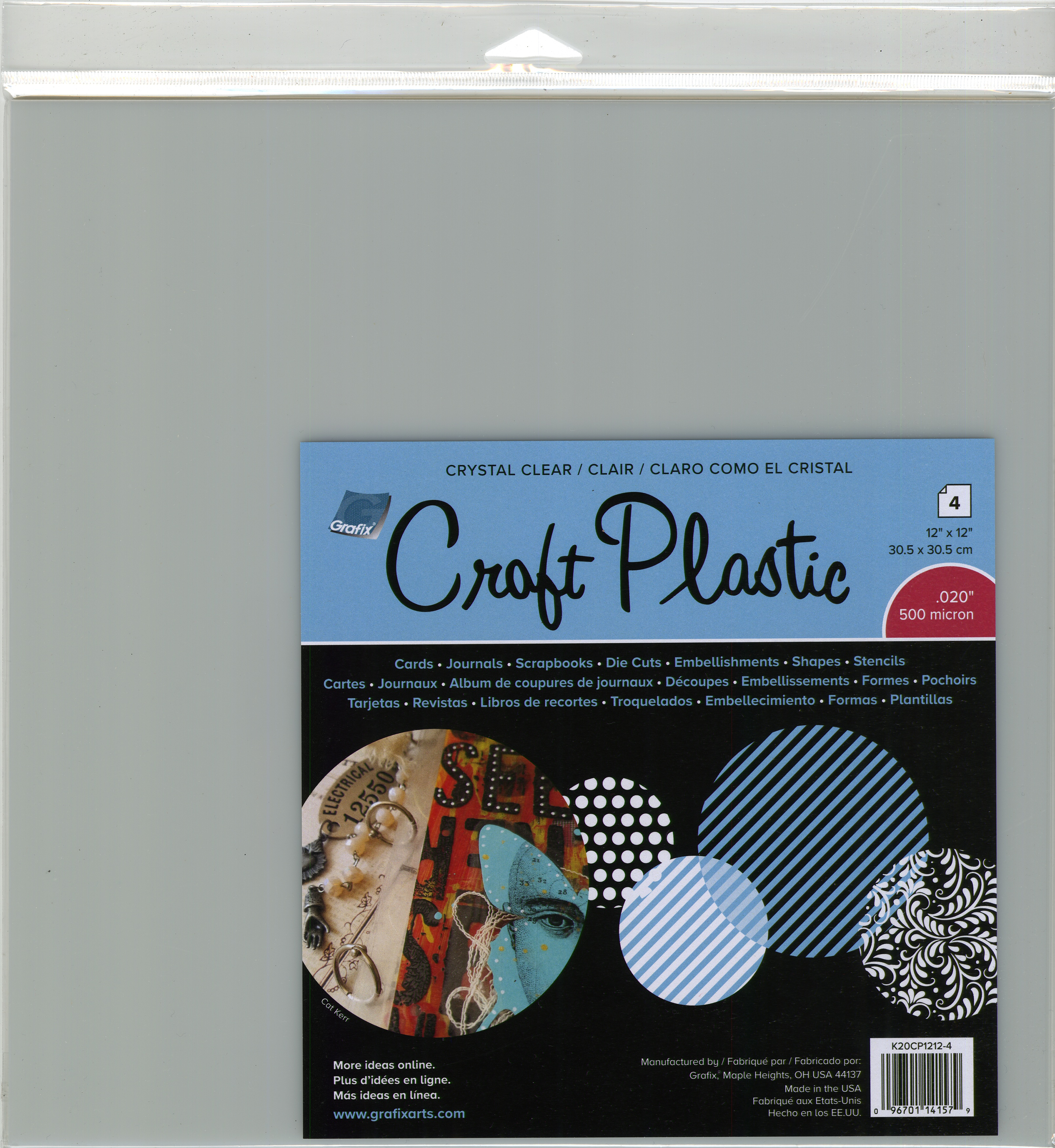 Craft-Plastic-Sheets-12-034-X12-034-4-Pkg-Clear-020
