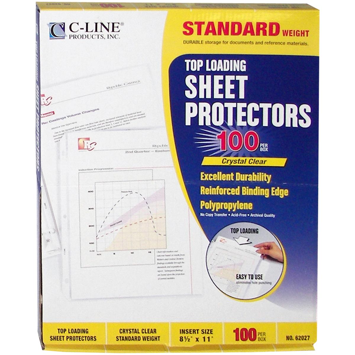 Top-Loading-Sheet-Protectors-8-5-034-X11-034-100-Pkg-Clear