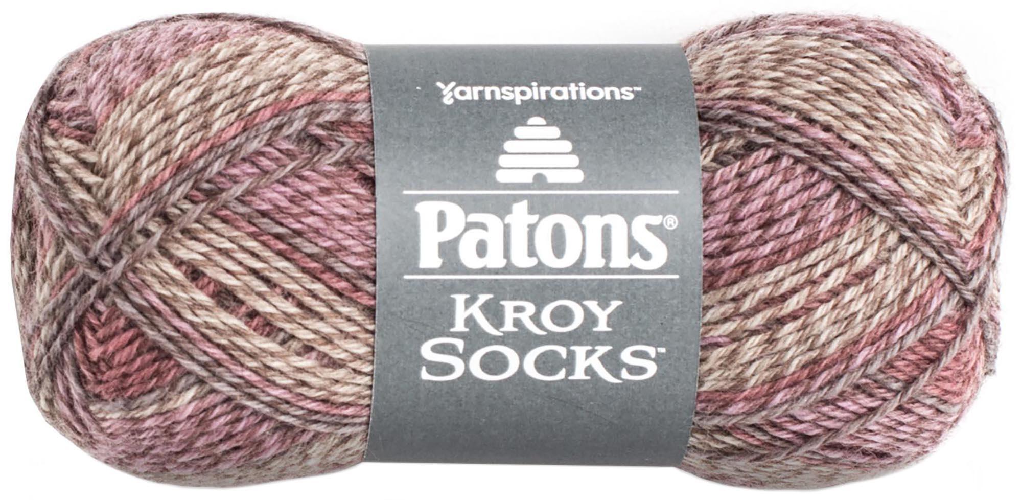Kroy-Socks-Yarn-Brown-Rose-Marl