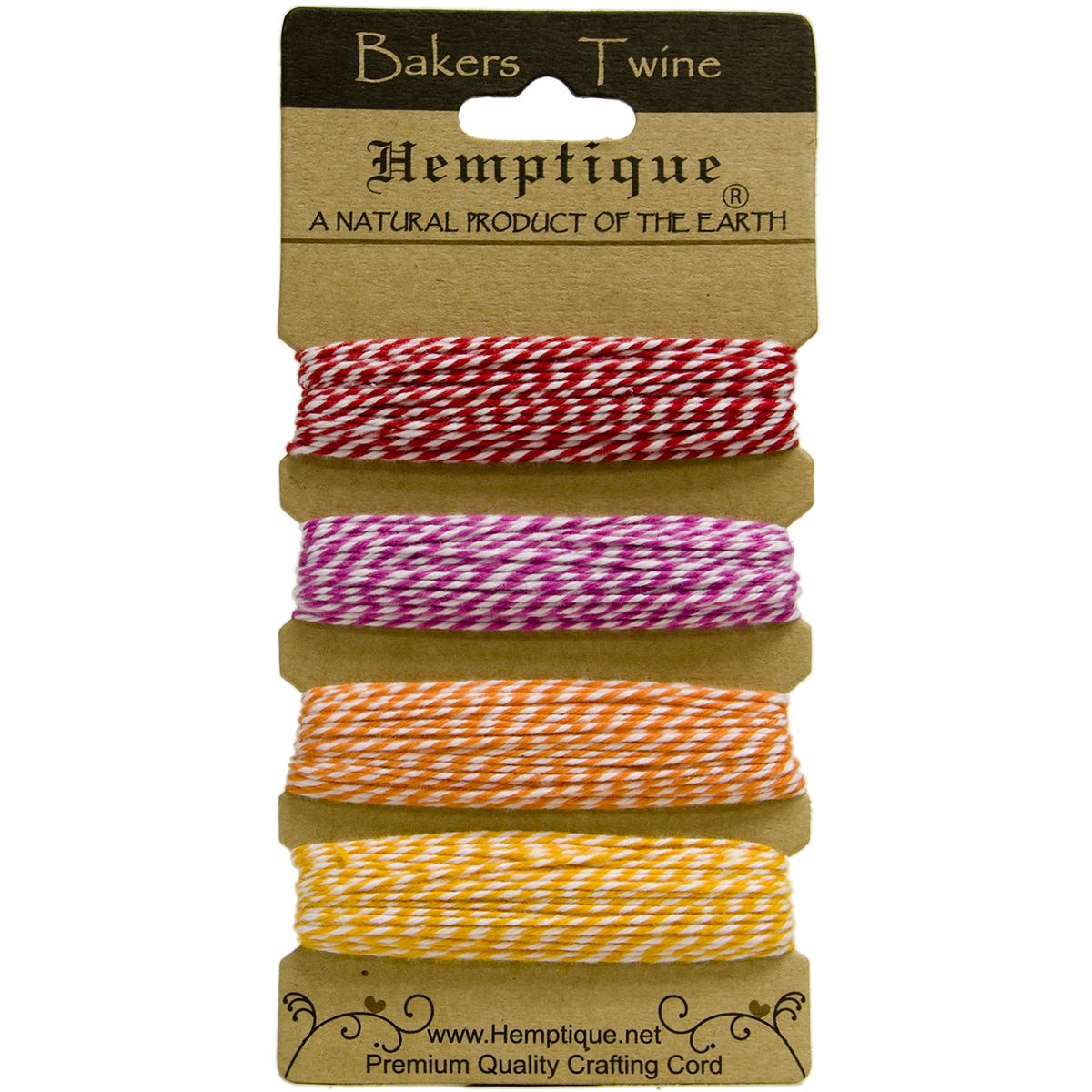 Cotton-Baker-039-s-Twine-2-Ply-120-039-Candy-Lane